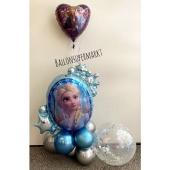 Luftballon Deko Eiskönigin
