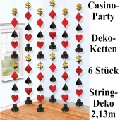 Deko-Ketten-Casino-Party-String-Dekoration
