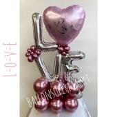 Luftballon Deko Love