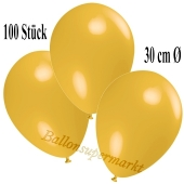 Deko-Luftballons Maisgelb, 100 Stück