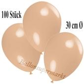 Deko-Luftballons Puder, 100 Stück
