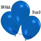 Deko-Luftballons Royalblau, 100 Stück