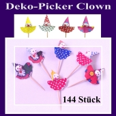 Deko-Picker Clown