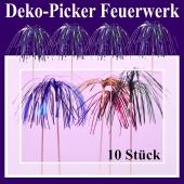 Deko-Picker Feuerwerk
