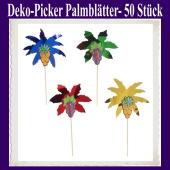 Deko-Picker Palmblätter