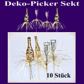 Deko-Picker Sekt