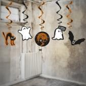 Spukgestalten, Swirl-Deko zu Halloween