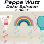 Peppa Wutz Swirl Dekoration zum Kindergeburtstag