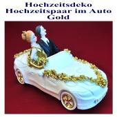 dekoration-hochzeit-hochzeitspaar-im-auto-gold
