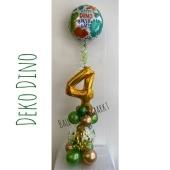 Luftballon-Deko- Kindergeburtstag Dino