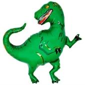 Dinosaurier Luftballon, groß, grün