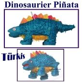 Dinosaurier Pinata, türkis