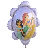 Disney Princess Shape Luftballon aus Folie