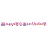Disney Princess Geburtstagsgirlande zum Kindergeburstag