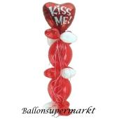 Do it yourself Ballondeko: Kiss Me