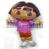 Dora Folienballon ohne Helium