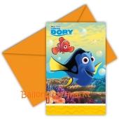 Findet Dorie Einladungskarten zum Kindergeburtstag