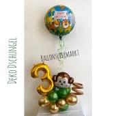 Luftballon-Deko- Kindergeburtstag Dschungel