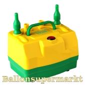 Elektrische Ballonpumpe, Automatik Aufblasgerät für Luftballons Dual-Air Pro