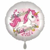 Einhorn Luftballon zum Geburtstag
