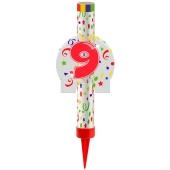 Eisfontäne Zahl 9, Dekoration zu Jubiläum und Geburtstag