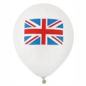 England Luftballons, 8 Stück