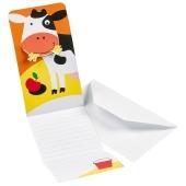 Einladungskarten Farm Fun zum Bauernhof Kindergeburtstag, 8 Stück