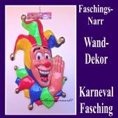 Faschingsnarr, Wanddekoration und Bühnendekoration zu Karneval und Fasching