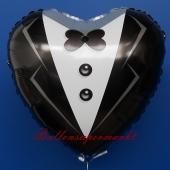 Braeutigam Herz, Luftballon aus Folie