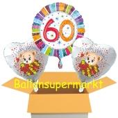 Luftballons aus Folie zum 60. Geburtstag
