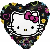 Hello Kitty Geburtstags- Luftballon aus Folie