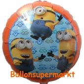 Minions Luftballon aus Folie mit Helium