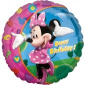 Minnie Maus Geburtstags- Luftballon aus Folie