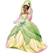 Disney Princess Tiana Shape Luftballon aus Folie, inklusive Helium