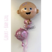 Ballon-Bouquet Baby Girl