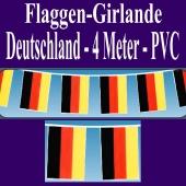 Flaggen-Girlande-Deutschland