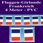 Flaggen-Girlande-Frankreich