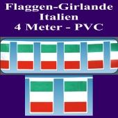 Flaggen-Girlande-Italien