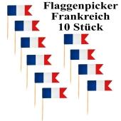 Flaggenpicker Frankreich