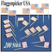Flaggenpicker USA