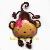 Luftballon Affe ohne Ballongas