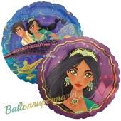 Folienballon Aladdin inklusive Helium