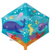 Anglezz Luftballon aus Folie Unterwasserwelt, inklusive Helium, Seite 1 & 2