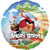 Angry Birds Luftballon aus Folie, ohne Helium