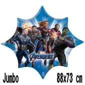 Avengers Endgame Jumbo Luftballon aus Folie mit Helium