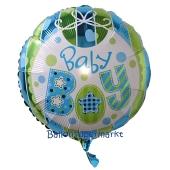 Baby Boy Luftballon aus Folie mit Helium