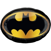 Bat-Signal, Batman Logo Luftballon aus Folie inklusive Helium