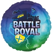 Battle Royal Luftballon aus Folie mit Helium