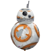 BB-8, Star Wars Luftballon aus Folie inklusive Helium