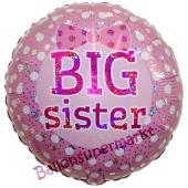 Big Sister, holografischer Luftballon aus Folie ohne Helium